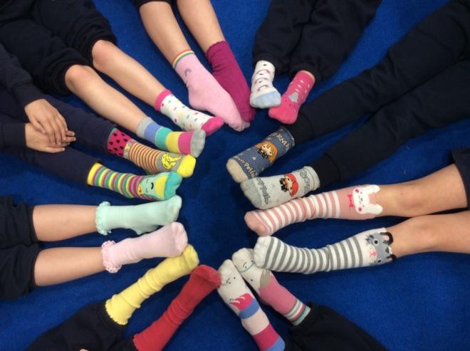 Year 2 Odd Socks